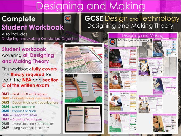 GCSE DT - Workbook - Designing and Making