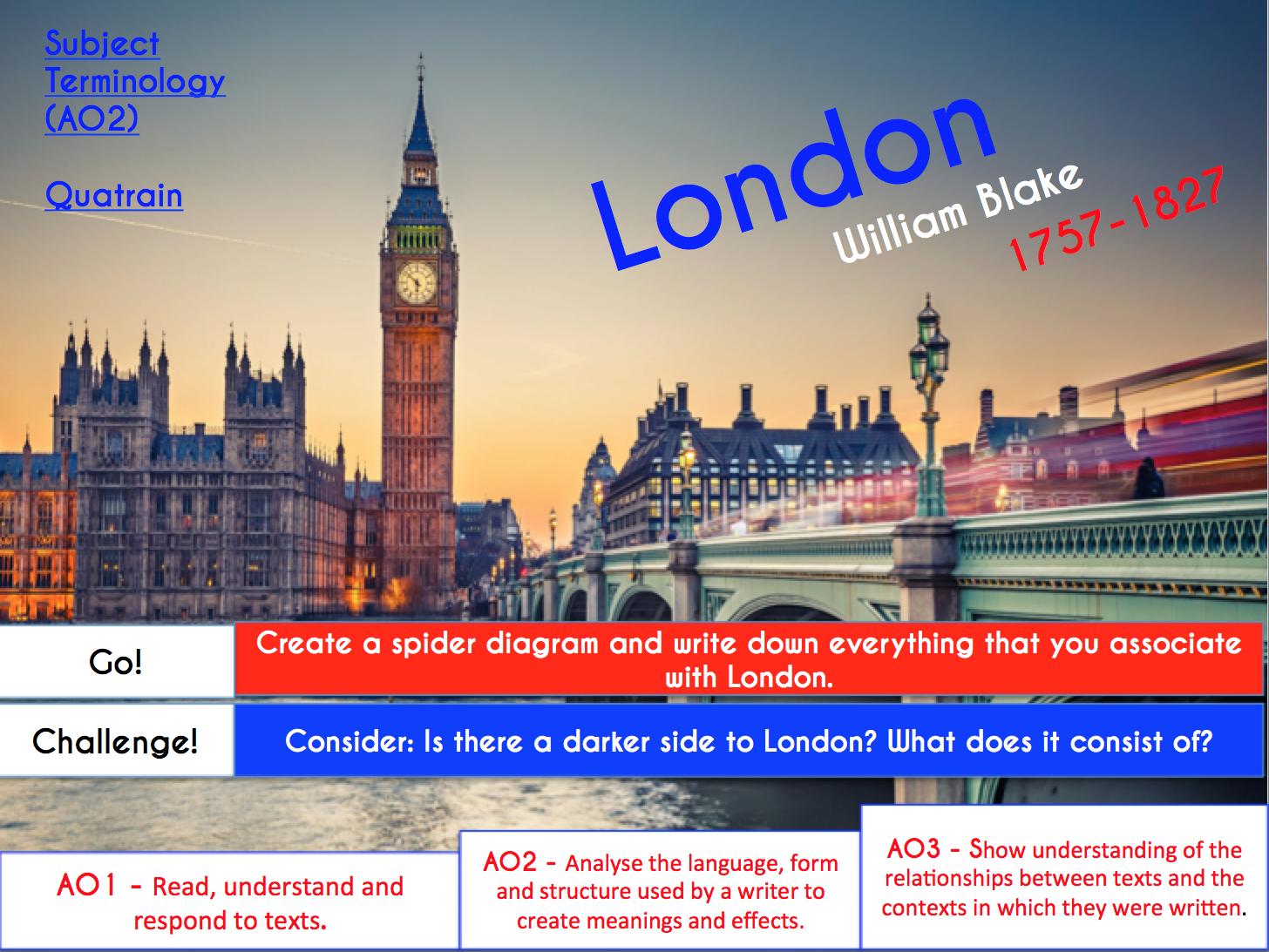 Exposure / London / Ozymandias - Power and Conflict