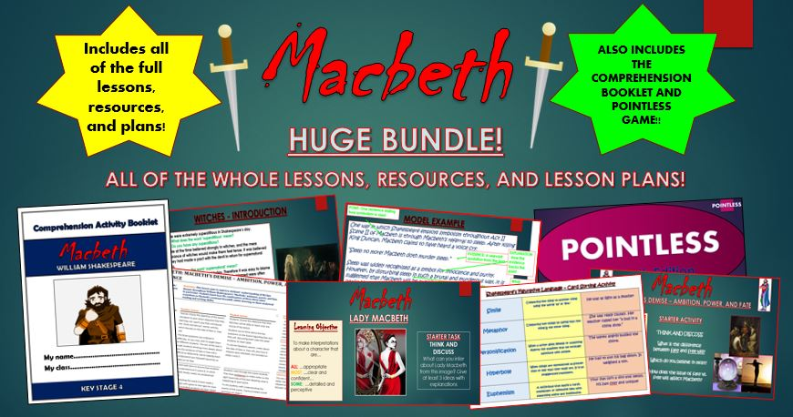 Macbeth Huge Bundle!