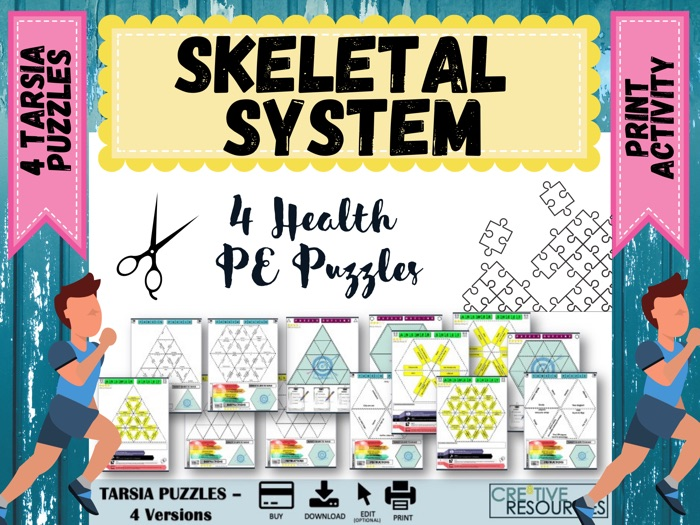 Skeletal System  Puzzles
