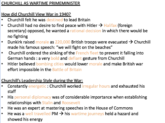 OCR History AS/A-Level UK Churchill and Britain 1951-1997