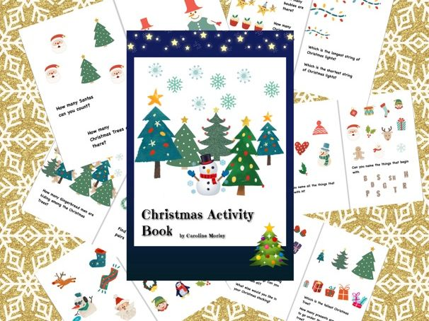 Early Years Christmas Activity Book