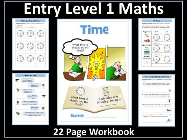 Time: AQA Entry Level 1 Maths