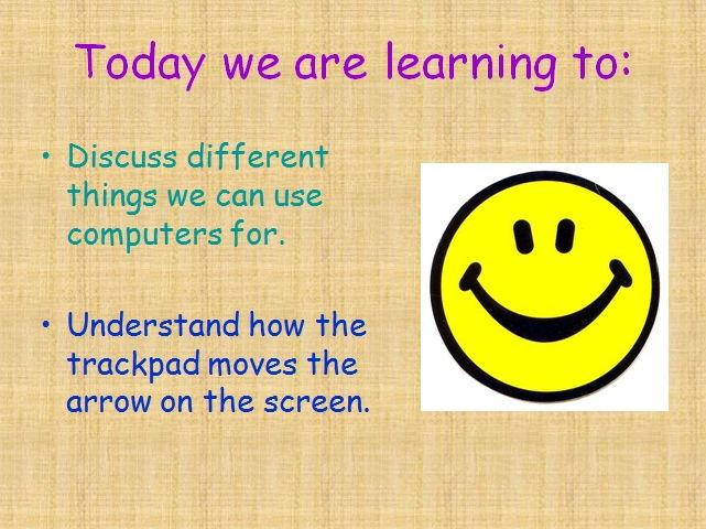 Computing - Assembling Text and laptop skills (Year 1)