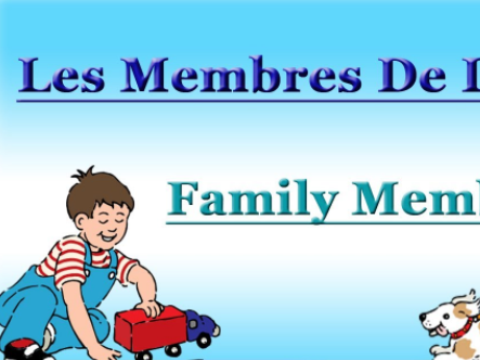 French Scheme of Work and 30+ resources UNIT 3 Family KS2