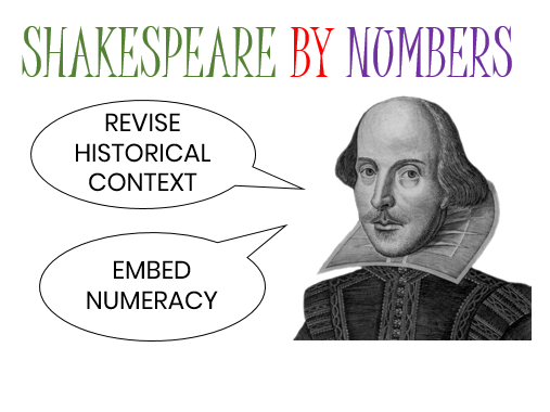 Shakespeare by numbers: Revise Historical Context