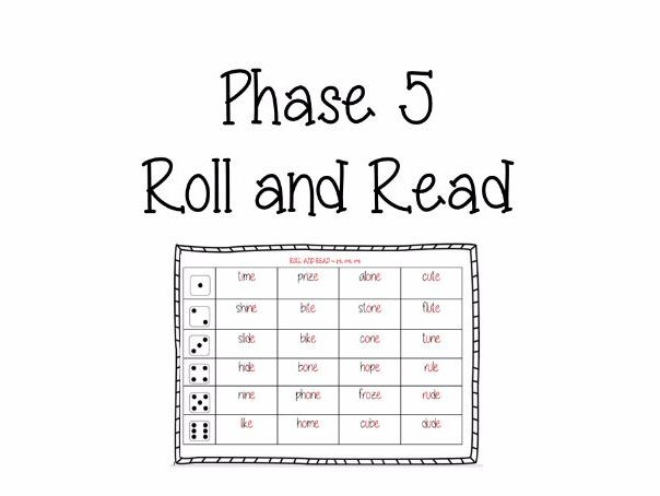 Phase 5 Roll and Read