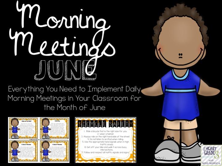 June Morning Meetings