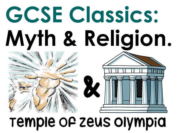 Myth and Religion: Temple of Zeus Olympia