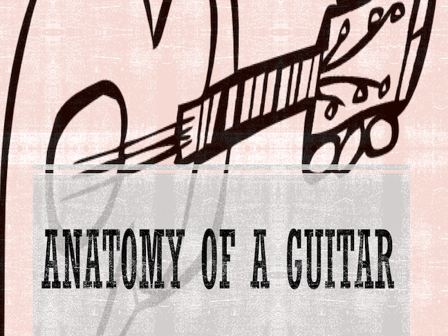 Guitar Anatomy Power Point and Activity Sheets