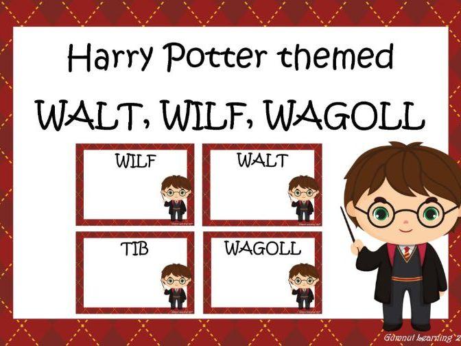 Harry Potter themed - WALT, WILF, WAGOLL, TIB posters
