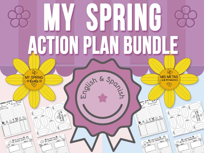 My Spring - Action Plan BUNDLE
