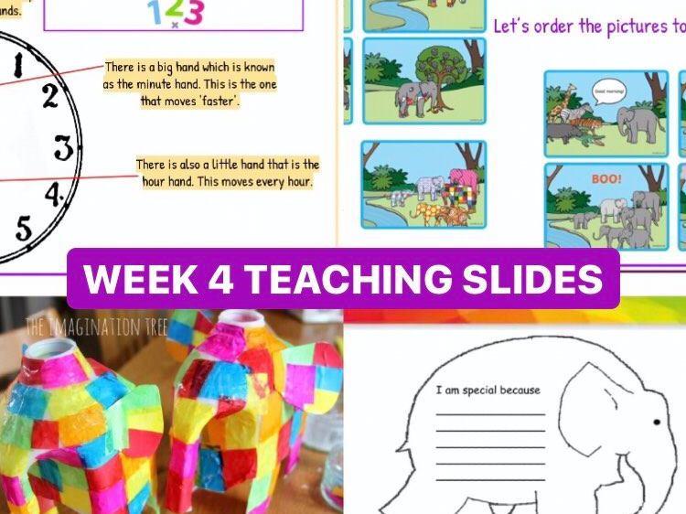 Back To School Teaching Slides (Week 4)