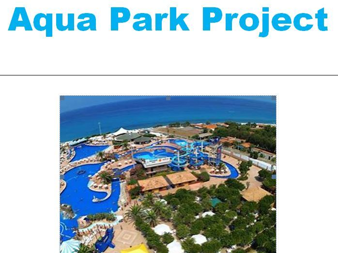 Aqua Park Project
