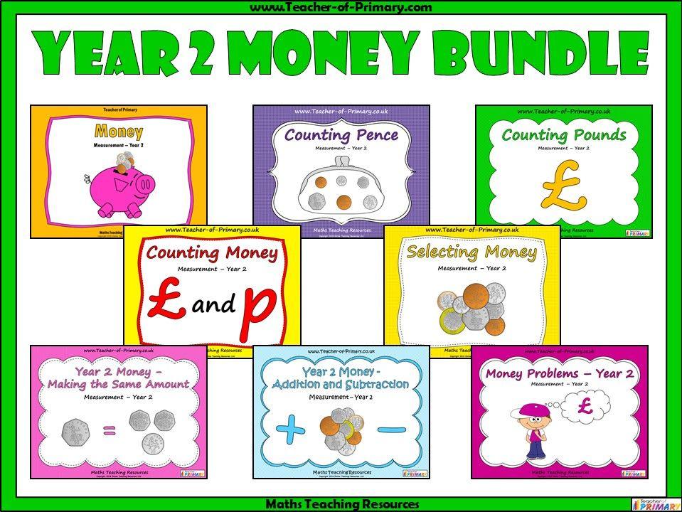Year 2 Money Bundle