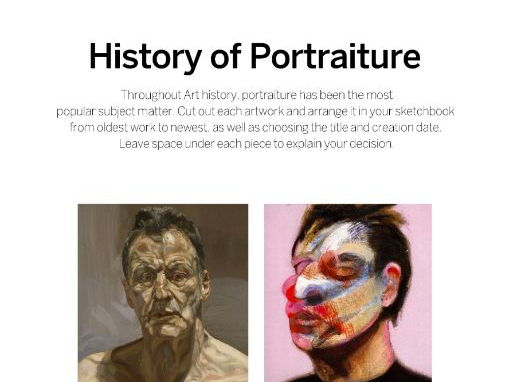 History of Portraits in Art
