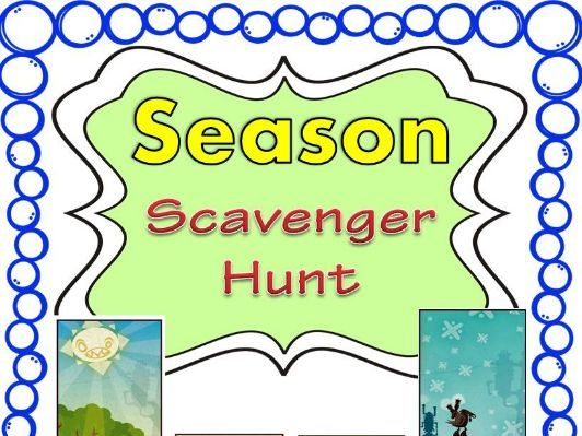 Season Scavenger Hunt