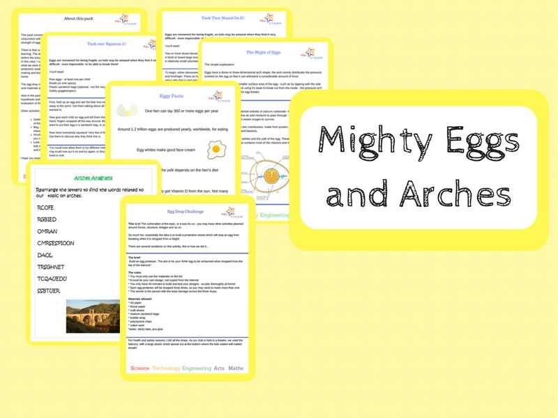 Mighty Eggs and Arches