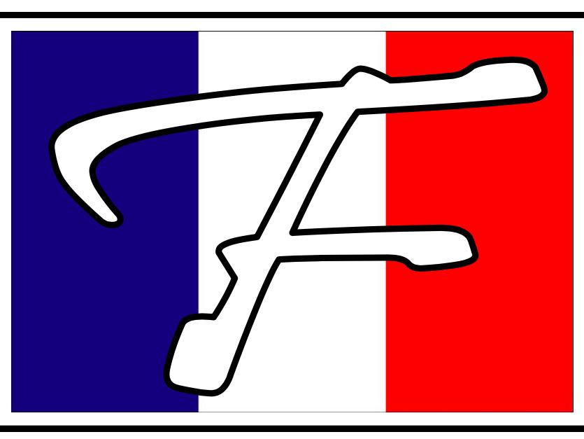 French Club Display Signage