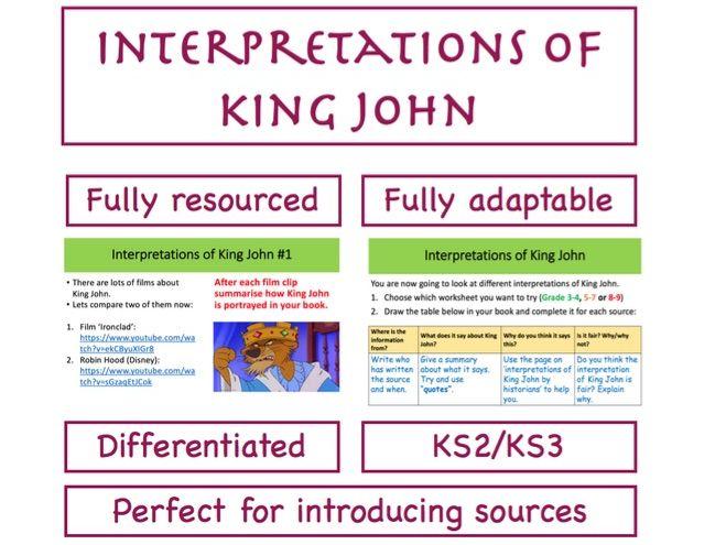 Interpretations of King John