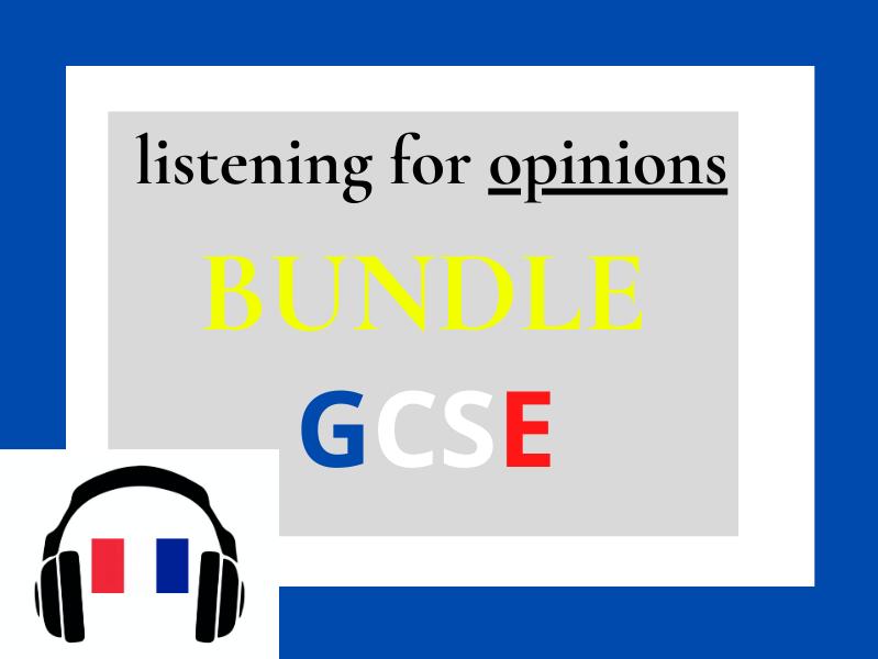 French IGCSE listening