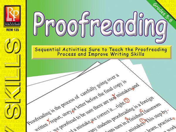 proofreading process