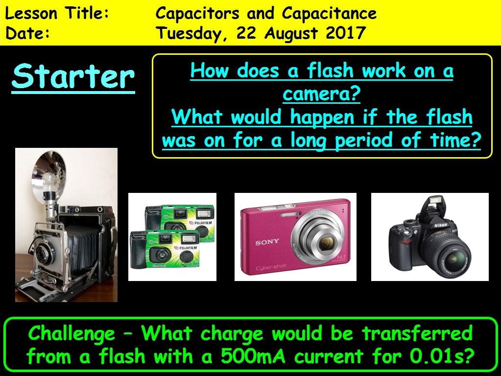 OCR A Level Physics - Unit 6.1: Capacitors and Capacitance