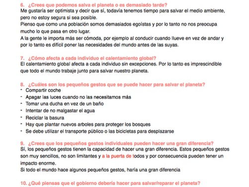 A2 Spanish Oral topics, questions, answer ideas and vocabulary