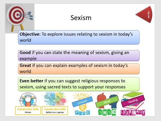 Prejudice & Discrimination: Sexism - Whole Lesson
