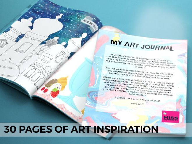 Art Journal, Art Project, Art Club Inspiration, Art Lesson Ideas