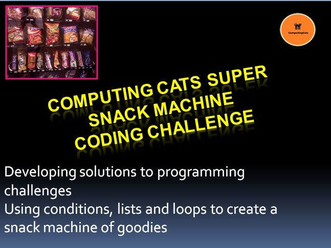 Coding Challenge - Computing Cats Super Snack Machine