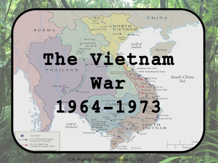 Vietnam Key Word Wall Display