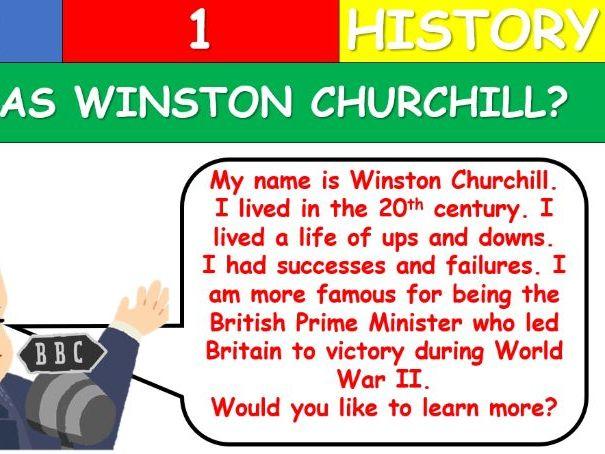 KS1 Winston Churchill Lesson