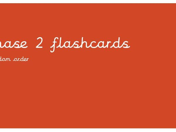 Phonics Flashcards PPT (Phase 2, 3 and 5) FREE