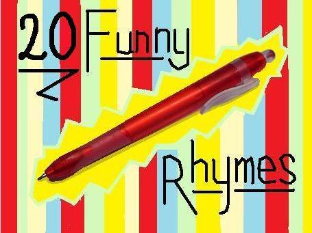 20 Funny Rhymes