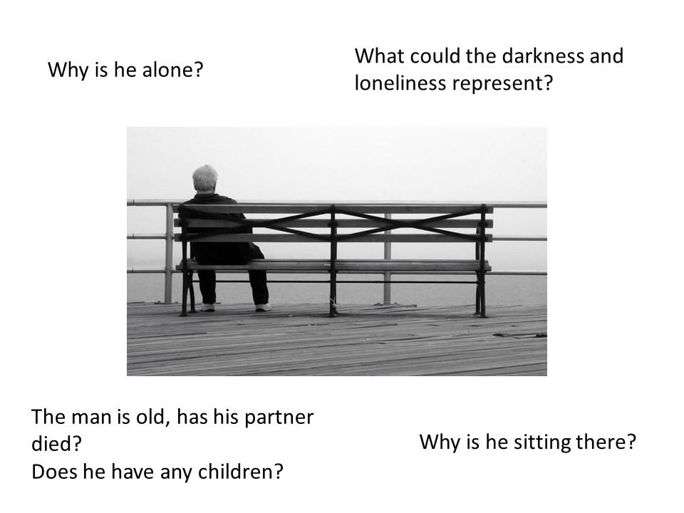 GCSE- Narrative from a photo stimulus
