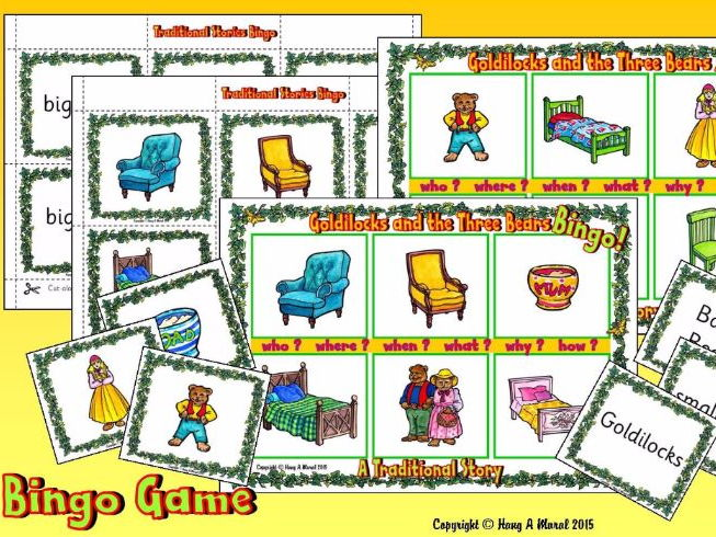 Goldilocks and the 3 bears - 15 free HQ online Puzzle ...