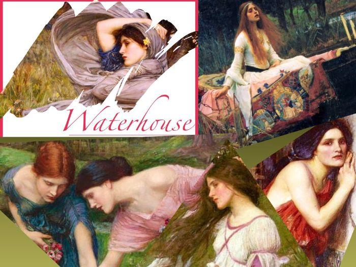 John William Waterhouse - Painting - Myth - Literature - Victorian - 178 Slides