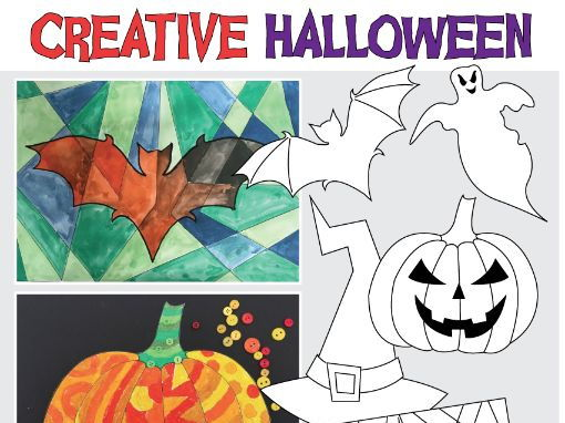 Bumper Halloween Creative Art Activities Pack 38 pages