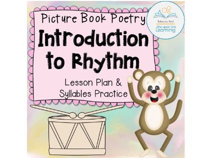 Syllables and Rhythm Poetry Lessons (based on picture books)
