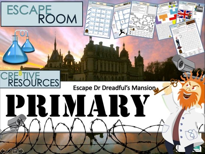 Primary  Back to School - Escape Room