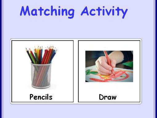 What Do You Do With It? Matching Activity
