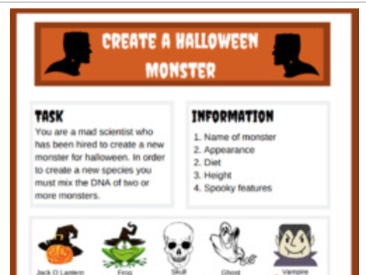 Create a Halloween Monster