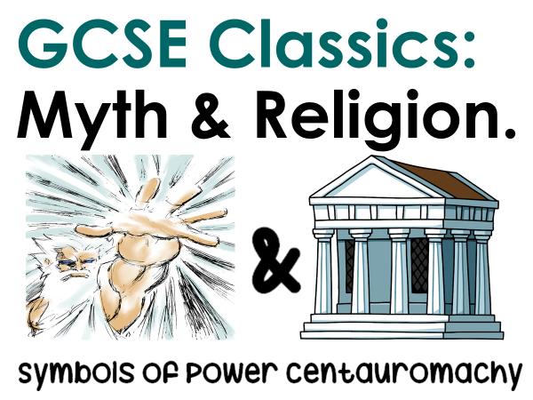 Myth and Religion: Centauromachy
