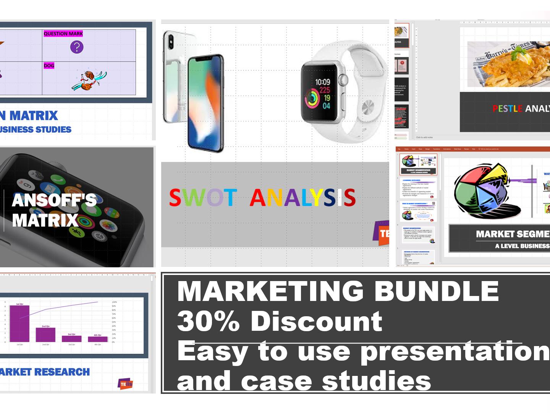 Marketing Bundle for A Level /BTEC/GCSE  Business