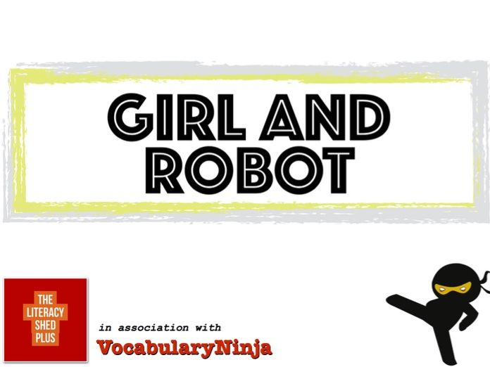 Girl and Robot Vocabulary Pack