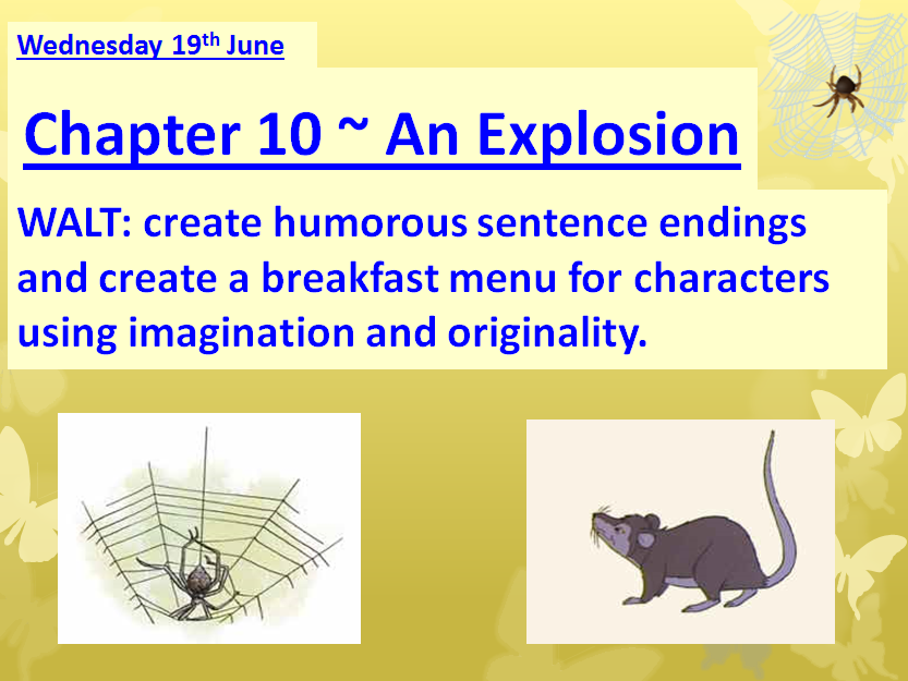 Charlotte's Web Ready-to-use lessons for Chapters 3 - 10 **NEW & UPDATED**