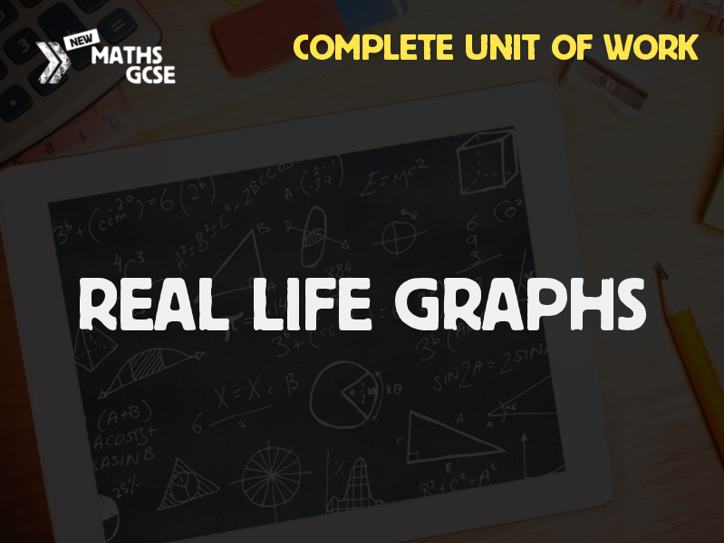 Real Life Graphs - Complete Unit of Work