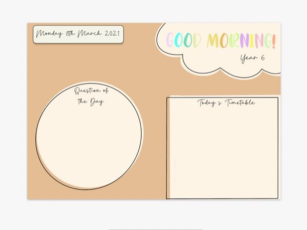 Morning Slide Templates 2