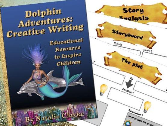 Dolphin Adventures: Creative Writing To Inspire Children